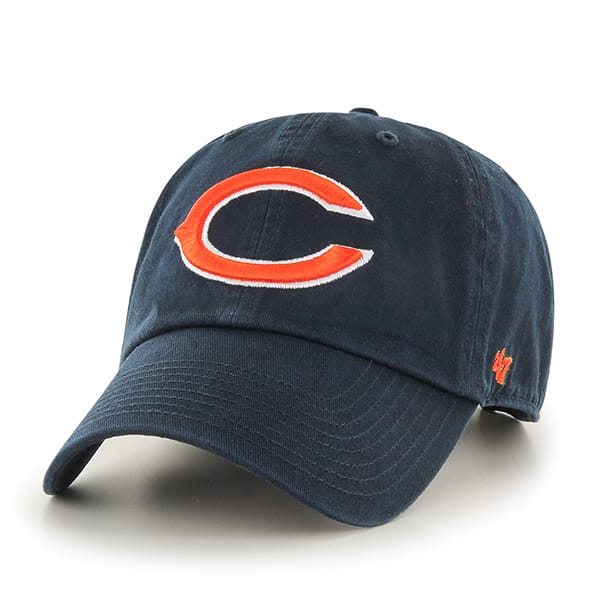Chicago Bears Clean Up Navy 47 Brand Adjustable Hat