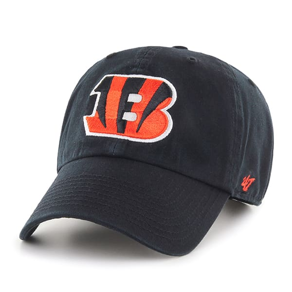 Cincinnati Bengals Clean Up Black 47 Brand Adjustable Hat