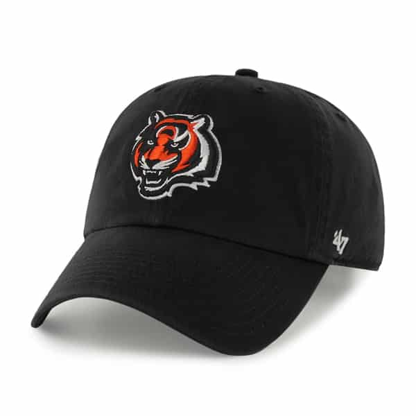 Cincinnati Bengals Clean Up Black 47 Brand KID Hat