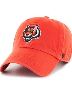 Cincinnati Bengals Clean Up Orange 47 Brand Adjustable Hat