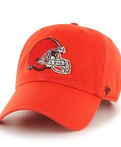 Cleveland Browns Clean Up Thunder 47 Brand Adjustable Hat