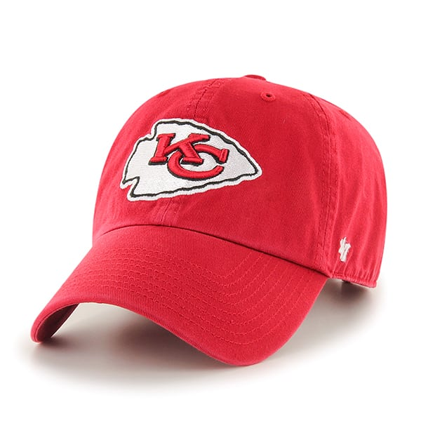 Kansas City Chiefs Clean Up Red 47 Brand Adjustable Hat
