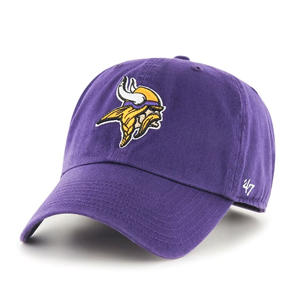 Minnesota Vikings Clean Up Purple 47 Brand Adjustable Hat