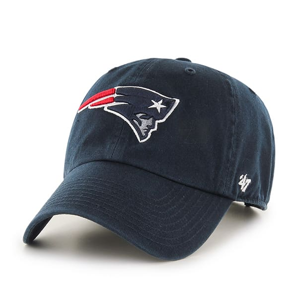 New England Patriots Clean Up Navy 47 Brand Adjustable Hat