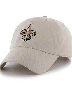 New Orleans Saints Clean Up Natural 47 Brand Adjustable Hat