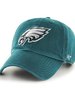 Philadelphia Eagles Clean Up Pacific Green 47 Brand Adjustable Hat