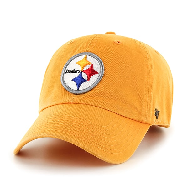 Pittsburgh Steelers Clean Up Gold 47 Brand Adjustable Hat