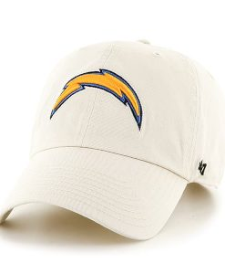 San Diego Chargers Clean Up Natural 47 Brand Adjustable Hat