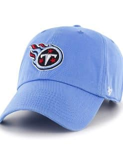 Tennessee Titans Clean Up Periwinkle 47 Brand KID Hat