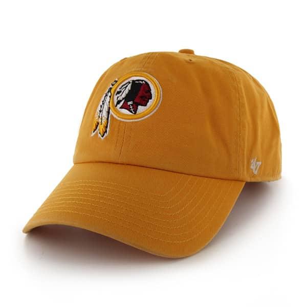 Washington Redskins Clean Up Gold 47 Brand Adjustable Hat