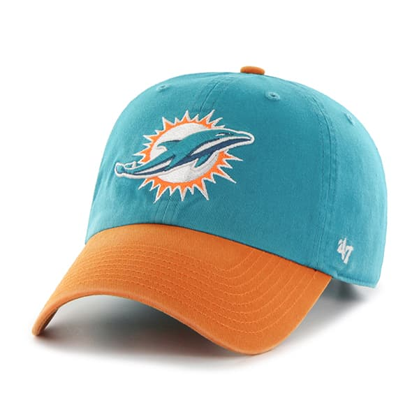 Miami Dolphins Clean Up Two-Tone Neptune 47 Brand Adjustable Hat
