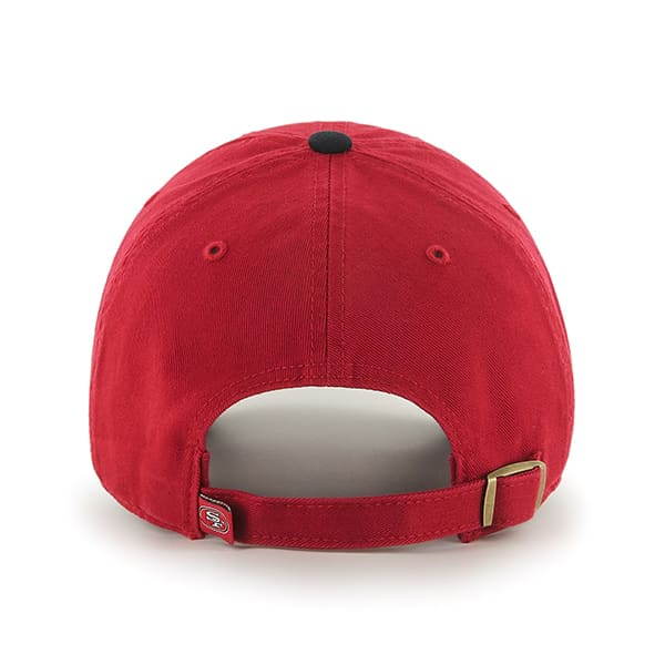 181a531d53763f San Francisco 49Ers Clean Up Two-Tone Red 47 Brand Adjustable Hat. San ...