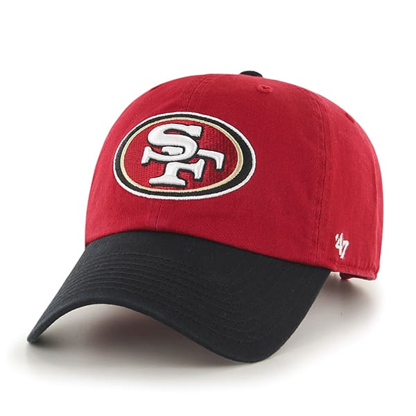 a9859089fa1e0b San Francisco 49Ers Clean Up Two-Tone Red 47 Brand Adjustable Hat - Detroit  Game Gear