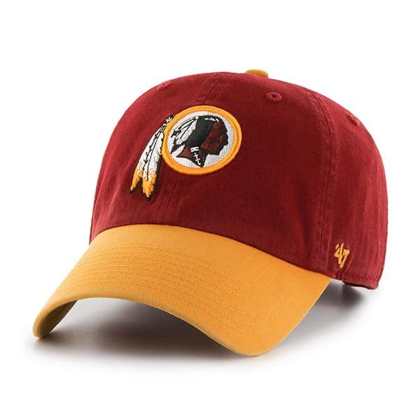 Washington Redskins Clean Up Two-Tone Razor Red 47 Brand Adjustable Hat