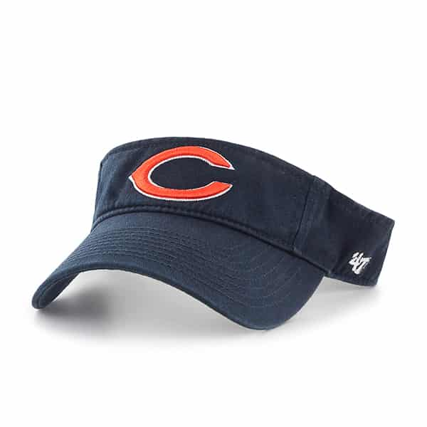 Chicago Bears Clean Up Visor Navy 47 Brand Adjustable Hat