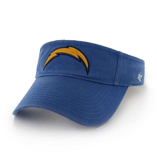 San Diego Chargers Clean Up Visor Blue Raz 47 Brand Adjustable Hat