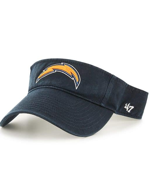 San Diego Chargers Caps: San Diego Chargers Clean Up Visor Navy 47 Brand Adjustable