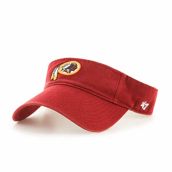 Washington Redskins Clean Up Visor Razor Red 47 Brand Adjustable Hat