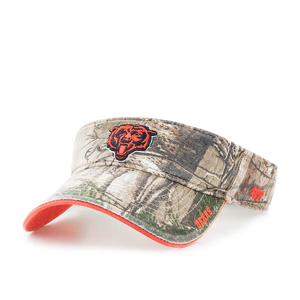 Chicago Bears Realtree Ice Visor Realtree 47 Brand Adjustable Hat