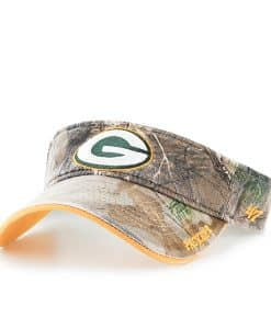 Green Bay Packers Realtree Ice Visor Realtree 47 Brand Adjustable Hat