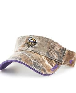 Minnesota Vikings Realtree Ice Visor Realtree 47 Brand Adjustable Hat