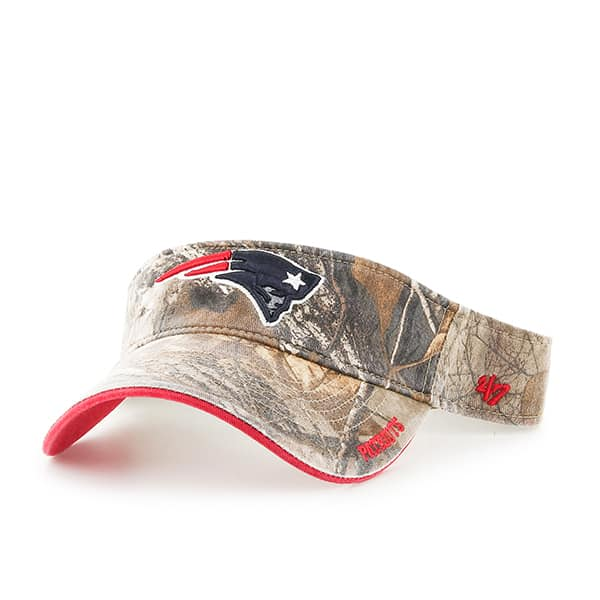 New England Patriots Realtree Ice Visor Realtree 47 Brand Adjustable Hat
