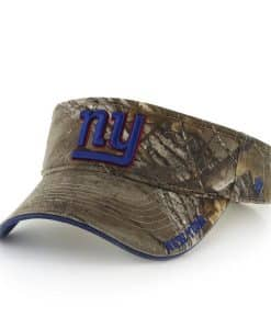 New York Giants Realtree Ice Visor Realtree 47 Brand Adjustable Hat