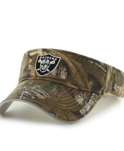 Oakland Raiders Realtree Ice Visor Realtree 47 Brand Adjustable Hat