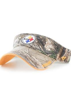 Pittsburgh Steelers Realtree Ice Visor Realtree 47 Brand Adjustable Hat