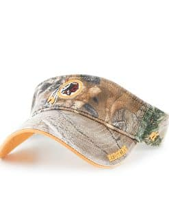 Washington Redskins Realtree Ice Visor Realtree 47 Brand Adjustable Hat
