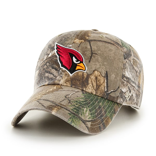 Arizona Cardinals Realtree Clean Up Realtree 47 Brand Adjustable Hat