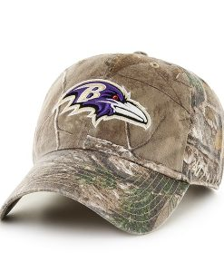 Baltimore Ravens Realtree Clean Up Realtree 47 Brand Adjustable Hat