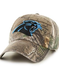 Carolina Panthers Realtree Clean Up Realtree 47 Brand Adjustable Hat