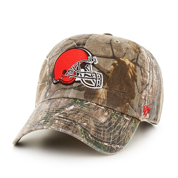 Cleveland Browns Realtree Clean Up Realtree 47 Brand Adjustable Hat
