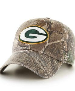 Green Bay Packers Realtree Clean Up Realtree 47 Brand Adjustable Hat