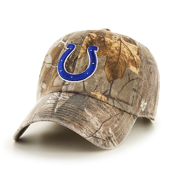 126008a465441 Indianapolis Colts Realtree Clean Up Realtree 47 Brand Adjustable Hat -  Detroit Game Gear