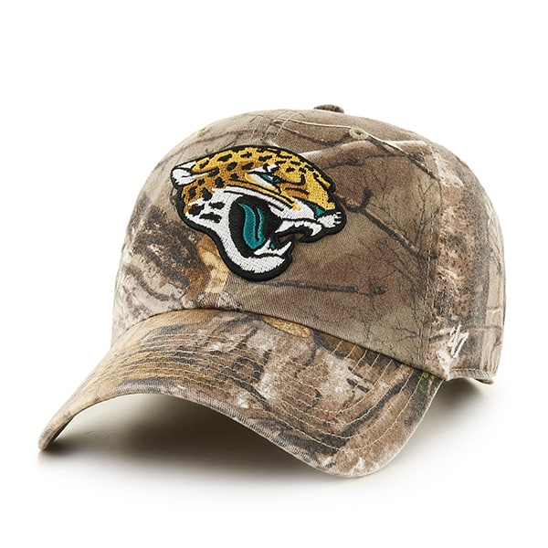 Jacksonville Jaguars Realtree Clean Up Realtree 47 Brand Adjustable Hat