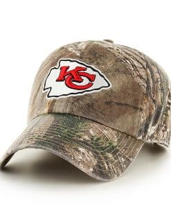 Kansas City Chiefs Realtree Clean Up Realtree 47 Brand Adjustable Hat