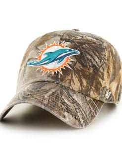 Miami Dolphins Realtree Clean Up Realtree 47 Brand Adjustable Hat