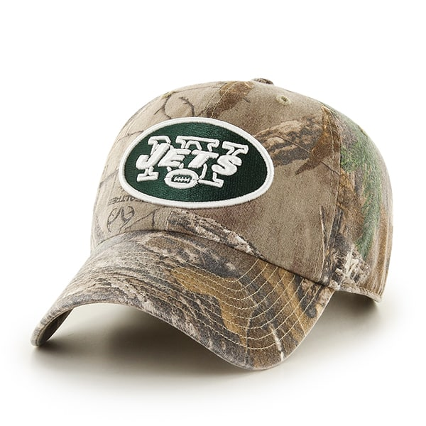 New York Jets Realtree Clean Up Realtree 47 Brand Adjustable Hat