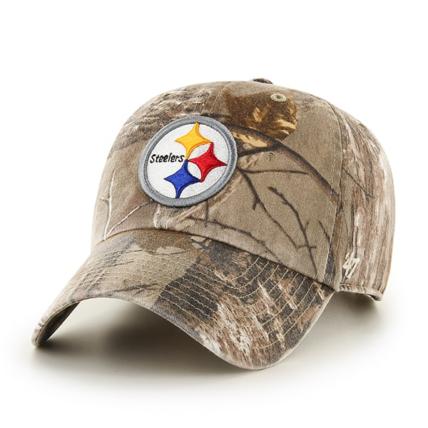 Pittsburgh Steelers Realtree Clean Up Realtree 47 Brand Adjustable Hat