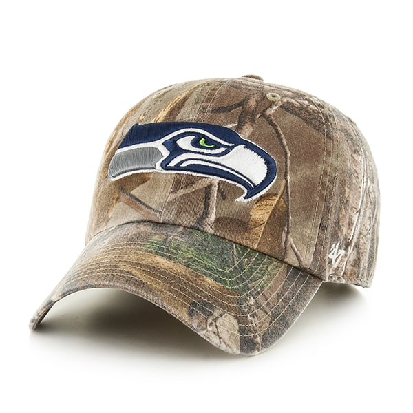 Seattle Seahawks Realtree Clean Up Realtree 47 Brand Adjustable Hat