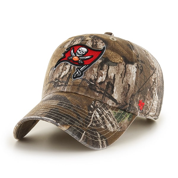 Tampa Bay Buccaneers Realtree Clean Up Realtree 47 Brand Adjustable Hat