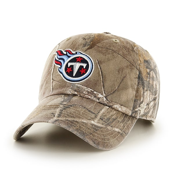 Tennessee Titans Realtree Clean Up Realtree 47 Brand Adjustable Hat