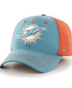 Miami Dolphins Reversal Team Color Closer Neptune 47 Brand Stretch Fit Hat