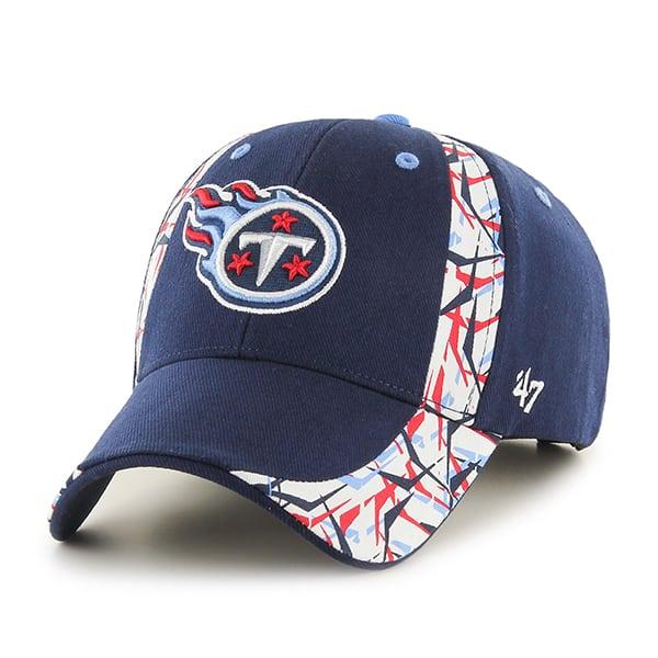 Tennessee Titans Side Cut MVP Light Navy 47 Brand Adjustable Hat