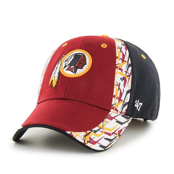Washington Redskins Side Cut MVP Razor Red 47 Brand Adjustable Hat