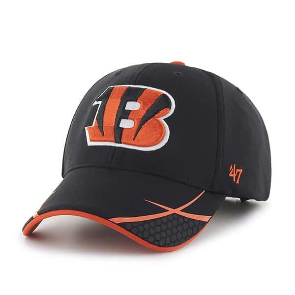 Cincinnati Bengals Sensei MVP Black 47 Brand Adjustable Hat