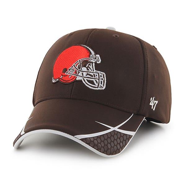 Cleveland Browns Sensei MVP Brown 47 Brand Adjustable Hat