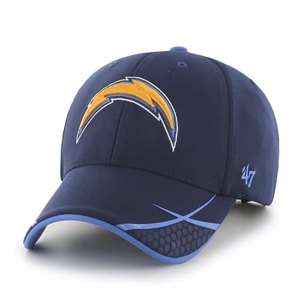 San Diego Chargers Sensei MVP Light Navy 47 Brand Adjustable Hat